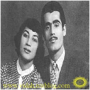 فروغ فرخزاد و شوهرش پرویز شاپور