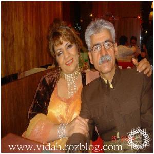 ناصر رزازی و همسر جدید